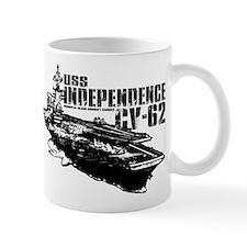 USS Independence CV-62 Mugs