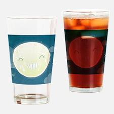 moon Drinking Glass