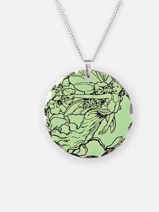 2-green faerie queen Necklace