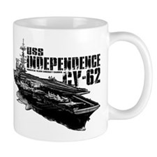 USS Independence CV-62 Mugs
