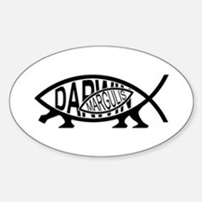 Lynn Margulis Fish Oval Decal