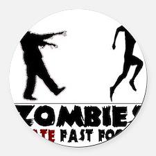 zombie Round Car Magnet