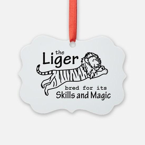 Liger (hat) Ornament