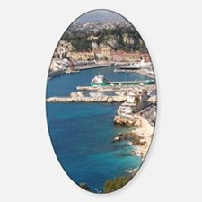 Gorgeous water Sticker (Oval)