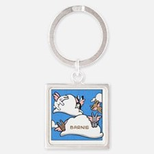 BUNNIESclouds Square Keychain
