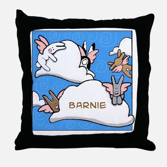 BUNNIESclouds Throw Pillow