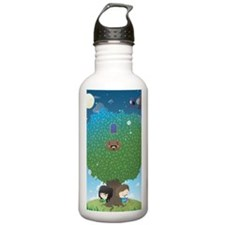 poster_nologo Sports Water Bottle