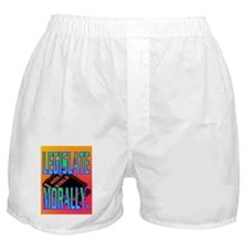 LEGISLATE MORALLY(framed panel print) Boxer Shorts
