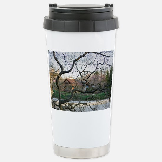 Through the Trees Stainless Steel Travel Mug