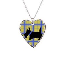Scottie Blue Yellow Necklace