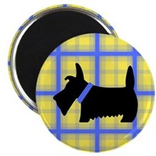 Scottie Blue Yellow Magnet