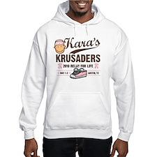 2-7x7 kara logo 2 Hoodie Sweatshirt