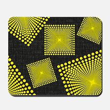 black yellow Mousepad
