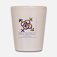 true neutral Shot Glass