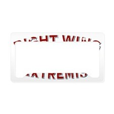 RightWingExtremistSince1776-L License Plate Holder