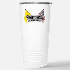 ProudRightWingExtremistWorking Travel Mug
