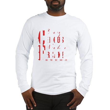 circusfreaklogoblack copy Long Sleeve T-Shirt