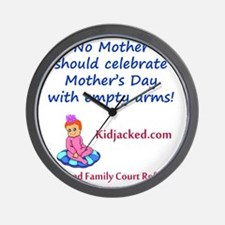 empty_arms_mothers_day2 Wall Clock