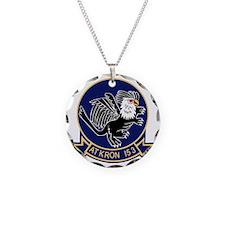 va-153_blue_tail Necklace