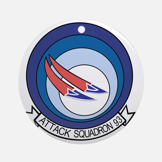 VA-93 Blue Blazers Round Ornament