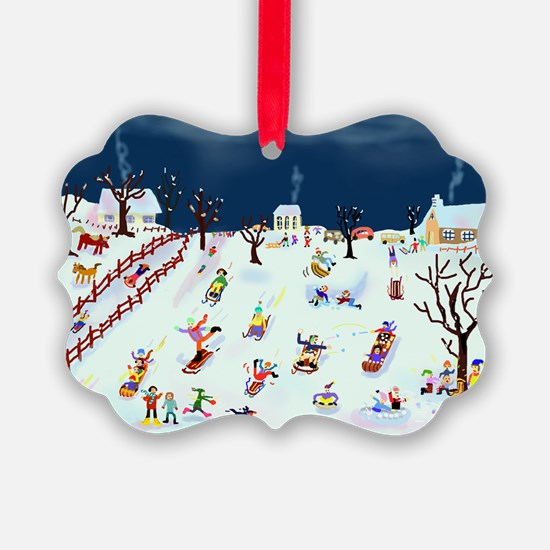 Maple Street Hill Ornament