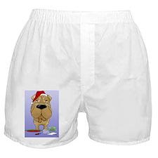 SharPeiBlue Boxer Shorts