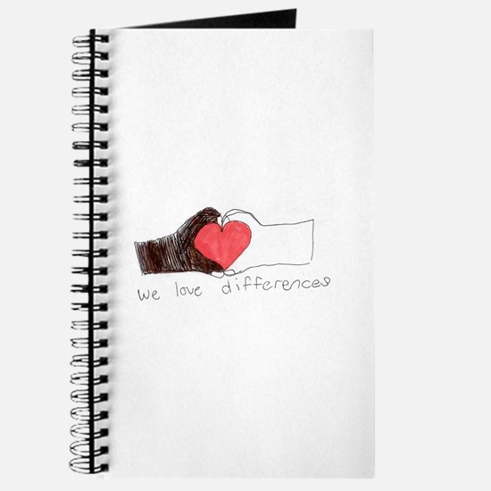 We Love Differences Journal