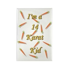 14_karot_kid Rectangle Magnet