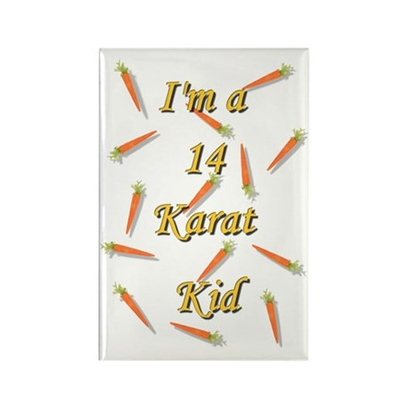 14_karot_kid Rectangle Magnet