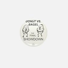 Donut_vs_Bagel_ME_flat Mini Button