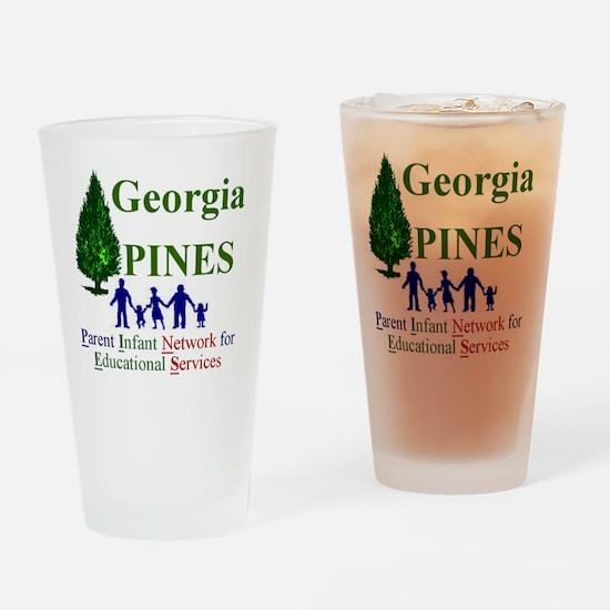logo sm 2 Drinking Glass