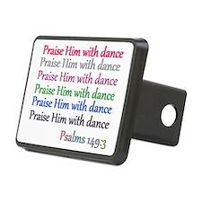 praise w dance Hitch Cover