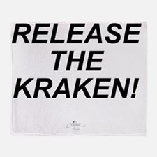RELEASE_KRAKEN Throw Blanket