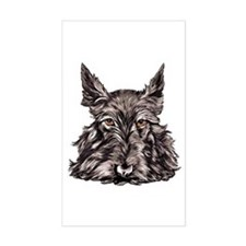 Scottish Terrier Rectangle Decal