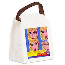 INMYLEVIS'CVR Canvas Lunch Bag