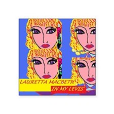 "INMYLEVIS'CVR Square Sticker 3"" x 3"""