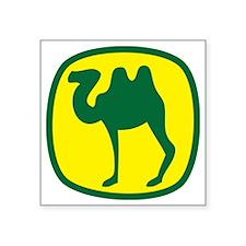 "LIKE A CAMEL Square Sticker 3"" x 3"""