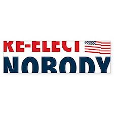 Re-Elect-Nobody Bumper Sticker