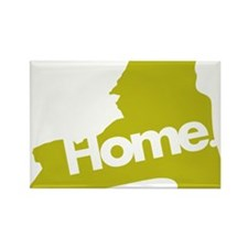 New-York-Home Rectangle Magnet