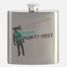 KPCR Blue Big Flask