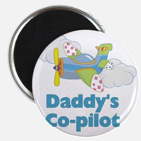 Daddys Co-pilot (boy) Magnet