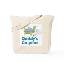 Daddys Co-pilot (boy) Tote Bag