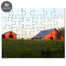 Horses and Barn  Note Card (NoteCardStore) Puzzle