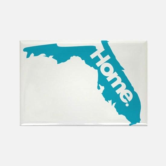 Florida-Home Rectangle Magnet