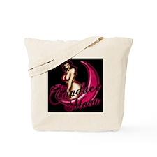 C._moon_fin1gry_pink_glow Tote Bag