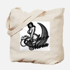 C._moon_fin1gry_Blk_glow Tote Bag