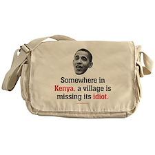idiot3 Messenger Bag