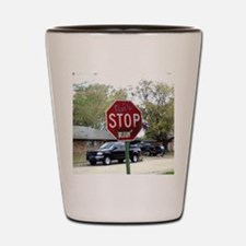 dont stop believin Shot Glass