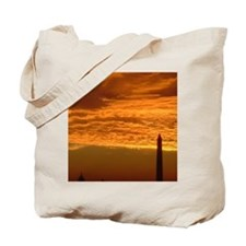 wash-mon_sunrise_v_post Tote Bag