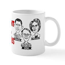 gov gone wild cafe bumper2 Small Mug